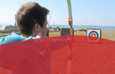 Archery with Shoreline Extreme Sports in Bude, Cornwall