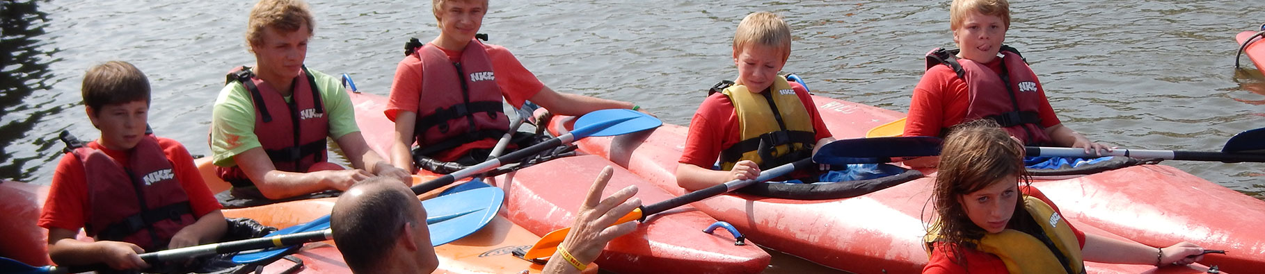 Canal kayaking course at Shoreline in Bude, Cornwall
