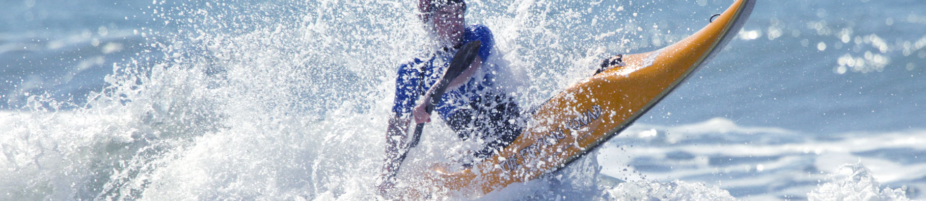 Surf kayaking course at Shoreline in Bude, Cornwall