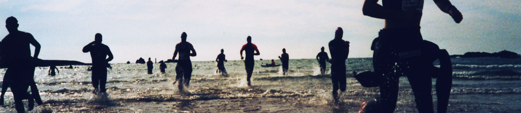 Triathlon event by Shoreline in Bude, Cornwall