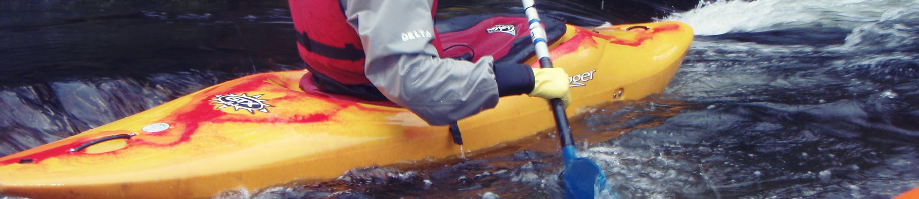 White water kayaking in Bude Cornwall