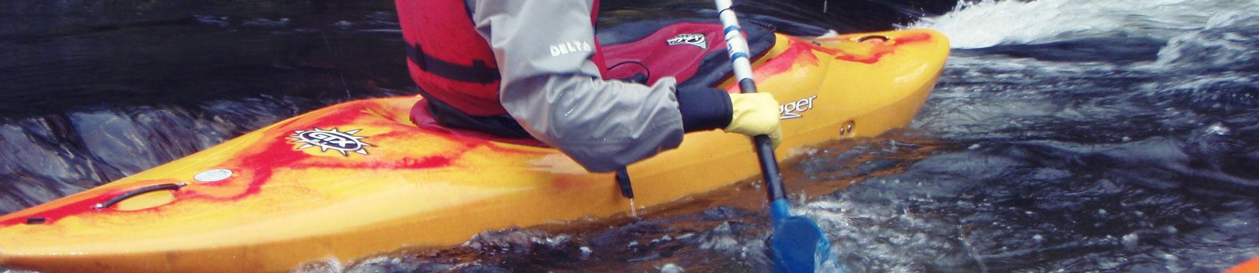White water kayaking in Bude Cornwall