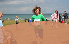 Bude Junior Triathlon event with Shoreline Extreme Sports in Bude, Cornwall