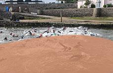 Foursome Quadrathlon event in Bude Cornwall run by Shoreline Extreme Sports