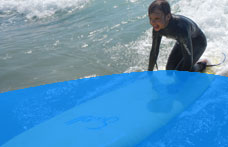 Shoreline outdoor pursuits in Bude, Cornwall